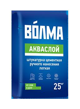 """Штукатурка """"Волма-Акваслой"""" 25кг (48шт.)"""