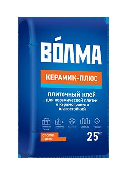 """Клей """"Волма-Керамик плюс"""" 25кг (48шт.)"""