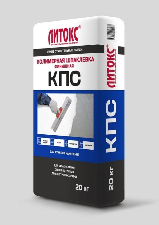 Шпатлевка ЛИТОКС полимерная КПС 20кг. (63шт.)