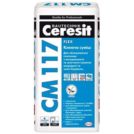 СМ117 Универсальный клей для плитки Ceresit 25кг