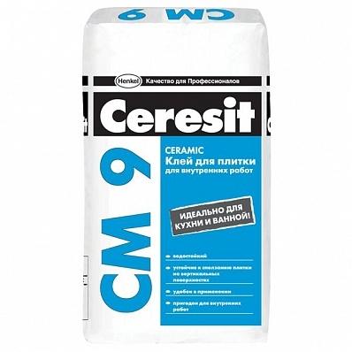 СМ 9  Клей для плитки Ceresit 25 кг