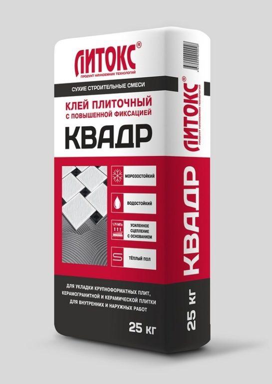 """Клей ЛИТОКС """"КВАДР"""" 25кг. (56шт.)"""