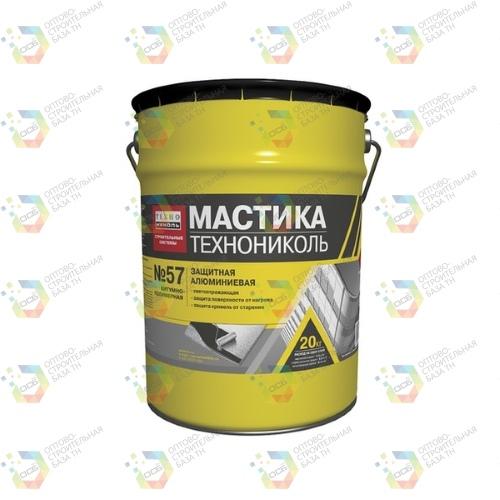 Мастика защитная алюминиевая ТехноНИКОЛЬ №57