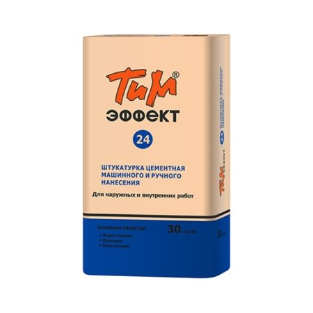 ТиМ-ЭФФЕКТ №24 Штукатурка цементная