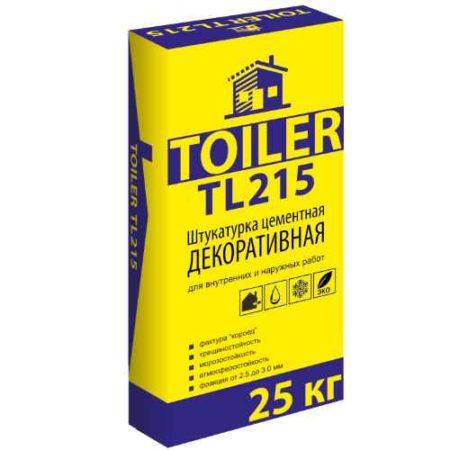 Цементная штукатурка TOILER TL 215